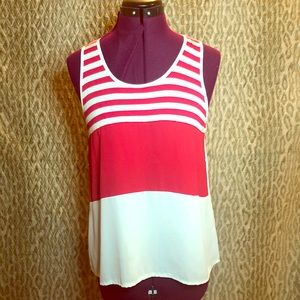 Zenana Outfitters striped tank top